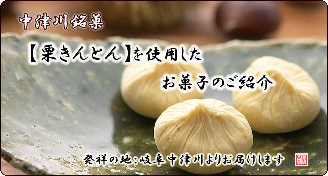 栗きんとんを使用のお菓子【信玄堂】